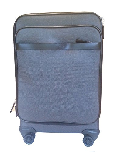 COACH HERITAGE Travel Weekend Carry-On 22' Luggage Suitcase 93390 CHARCOAL
