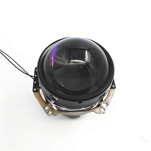 B Blesiya Mini 9inch LHD H1 H4 H7 Bi-xenon Projector Blauw Lens Shroud Hi/Lo Koplamp Aangepaste Koplamp