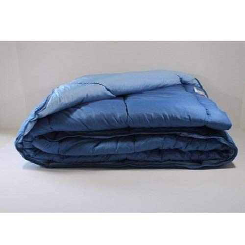 Trovador EDREDÓN Reversible Ref:6101, Bicolor: Celeste/Azul - 200x270cm (105).