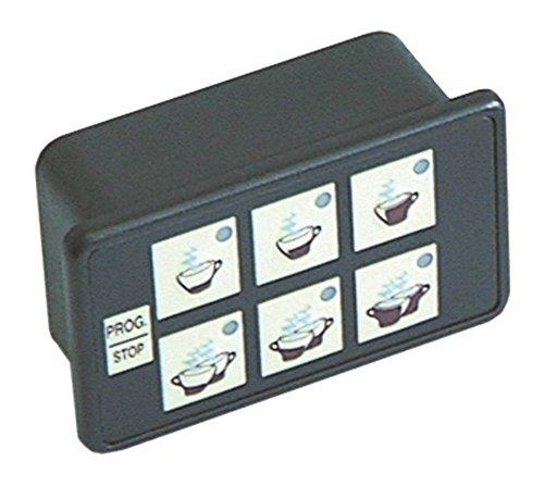 Astoria-Cma - Unidad de teclado para cafetera Brava-SME, Brava-SMSA, Brava (6 teclas)