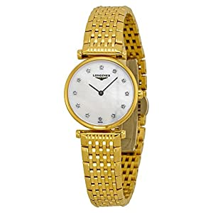 Longines La Grande Classique Mother of Pearl Diamond Ladies Watch L42092878 Check Prices and Order Now!! and review