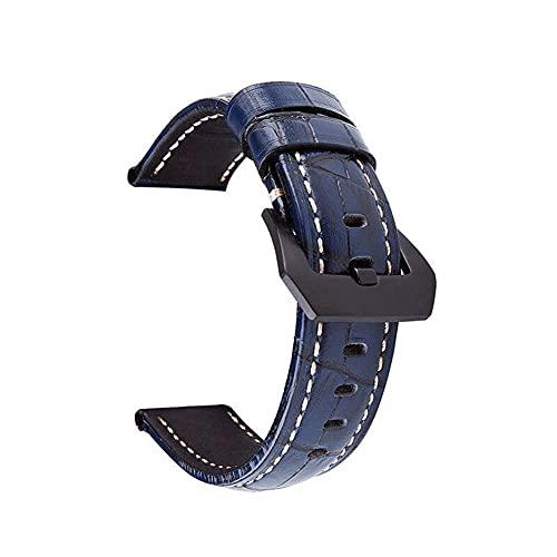Correa de Reloj de Cuero Correas de Reloj 20 mm 22 mm 24 mm 26 mm Correa de Reloj de Cuero de Becerro Retro Correa de Reloj con Correas de Cuero Genuino ### 4