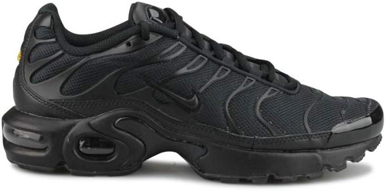 Nike Air Max Plus TN Tuned Junior Noir 655020-009 : Amazon.fr ...