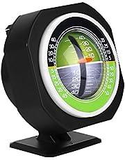 Alomejor Ángulo del Coche Buscador del medidor de Nivel de la Pendiente LED de Alta precisión Inclinómetro del Coche Medidor de la Pendiente del ángulo Equipo de Medida