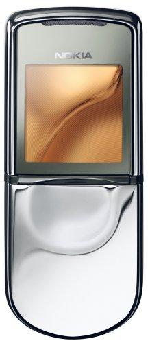 Nokia 8800 Sirocco Light 134g Acero Inoxidable - Teléfono móvil (Edge, GPRS, Polifónico, 208 x 208 Pixeles, TFT, 262144 Colores, gsm 900/1800/1900)