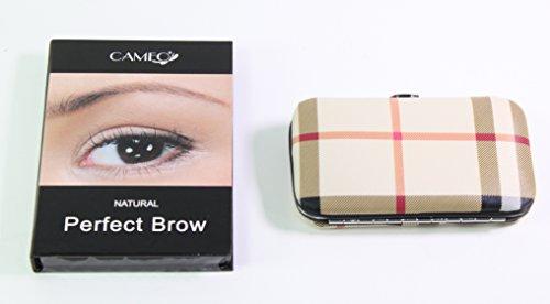 Cameo Cosmetics Natural Perfect Brow + 1 Tan Fingernail Manicure Care Case Set