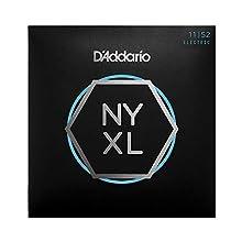 NYXL presenta la aleación de acero de alto carbono exclusivo de D'Addario fabricado en Nueva York, para una fuerza sin precedentes – Toca sin miedo. Mejorada estabilidad de afinación en comparación a las cuerdas tradicionales de entorchado de níquel ...