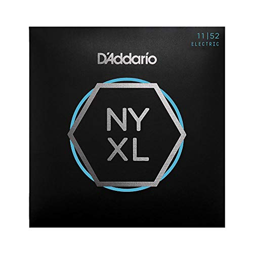 Cuerdas para Guitarra Eléctrica D'Addario NYXL1152 Nickel Wound, Superiores Medium/Inferiores Heavy, 11-52