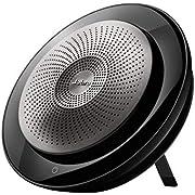 Jabra Speak 710 Speaker per Telefono - Altoparlante per Conferenze Certificato UC con Cavo USB e Adattatore Bluetooth - Collegabile al Computer, Tablet o Telefono