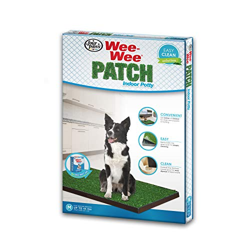 Four Paws Wee-Wee Dog Grass Patch Tray Medium