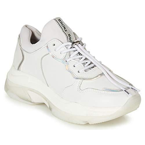 Bronx 66167B-AN Damen Sneakers Weiß, EU 40