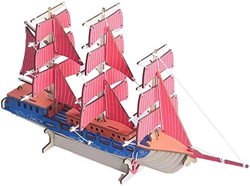 Taoke S Puzzle Spielzeug Adult Hoch Schwierigkeitsgrad 3 DIY Holz Dreidimensionales Puzzle Bauanleitung Versammlungs-Modell 8bayfa
