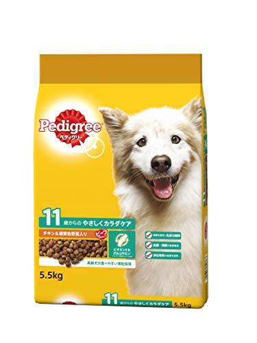 ペディグリー シニア犬用 11歳から ヘルシーチキン&緑黄色野菜入り 5.5kg [ドッグフード・ドライ]