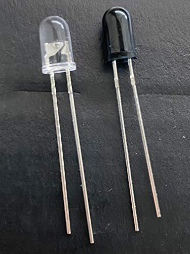 5 Paar Infrarotdiode LED Infrared Diode Leuchtdioden Diode LED IR Emission Sender und Empfänger IR Emission and Receiver