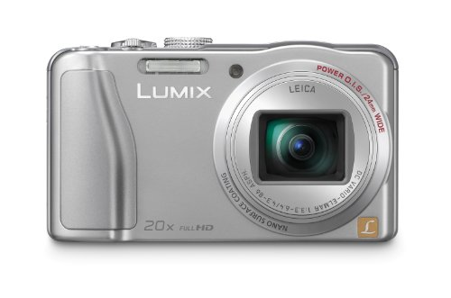 Panasonic DMC-TZ31EG-S Digitalkamera (14,1 Megapixel, 20-fach opt. Zoom, 7,5 cm (3 Zoll) Display, bildstabilisiert) silber