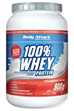 Body Attack 100% Whey Protein Hydrolysate- Ultra filtriertes Whey Protein (Strawberry Cream, 900g)