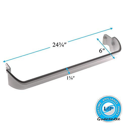 Lifetime Appliance 240534701 Door Bar Rack Compatible with Frigidaire or Kenmore Refrigerator