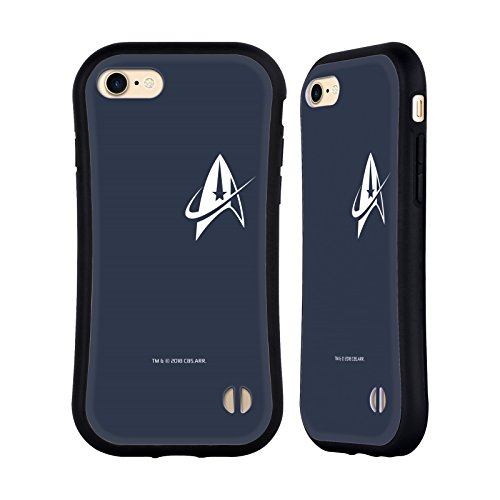 Head Case Designs Officially Licensed Star Trek Discovery Delta Small Badges Hybrid Case Compatible with Apple iPhone 7 / iPhone 8 / iPhone SE 2020