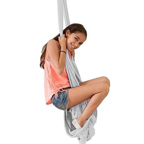WCX Columpio Swing Terapia Interior Hamaca Columpio de elástica para niños Adolescentes Hamaca De Abrazo sensoriales Efecto calmante en el niño con Necesidades Especiales