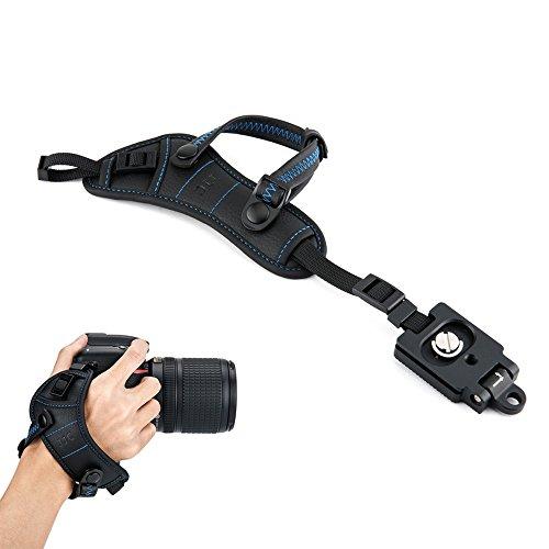 JJC Correa de mano para cámara réflex digital (con placa tipo Arca)