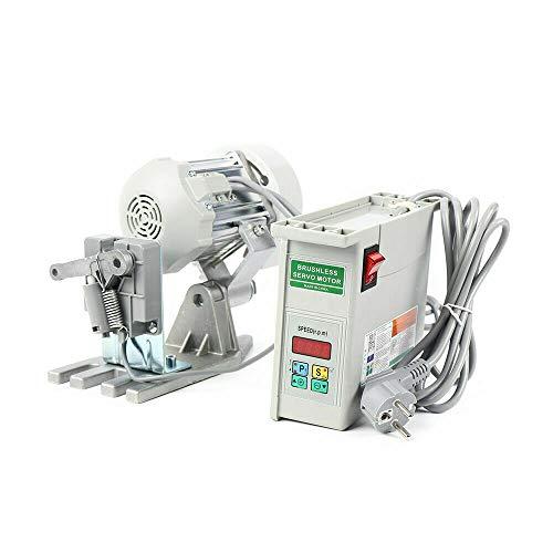 Aohuada Motor para máquina de coser, motor ajustable, silenciador de bajo consumo, motor sin cola para máquina de coser industrial, CA 650 W