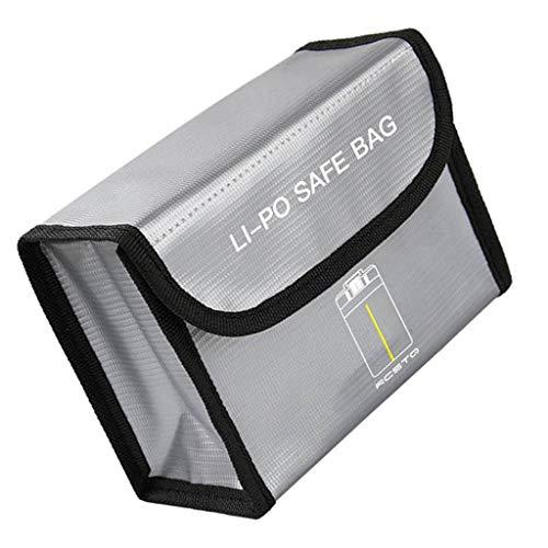 HomeDecTime Custodia a Prova di Esplosione per Batterie al Litio per DJI Mavic Batterie