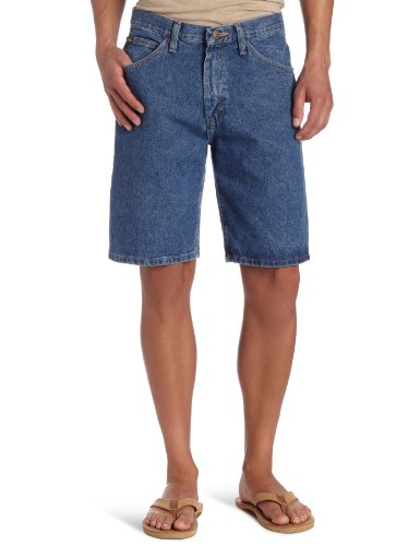 Lee Men's Regular Fit Denim Short, Pepper Stone, 34