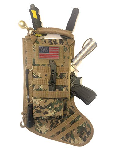 Tactical Christmas Stocking with Molle Gear (New Multicam)