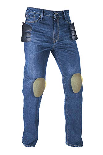 Oxford Productos Jeans de Motocicleta para Hombre, aprobados Originales, 2 años de Edad, Reino Unido 30 Largo