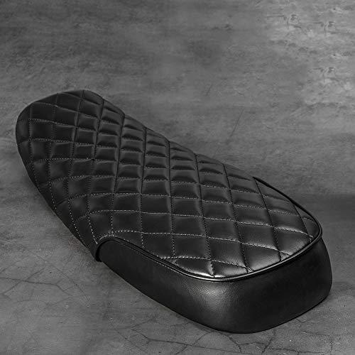 VRDN de alta calidad Asiento universal del asiento de la vendimia 64cm Asiento de la almohadilla de la motocicleta para la bicicleta de suciedad ATV Sillón de la raya estilo Nonsilp Sillín 100% nuevo