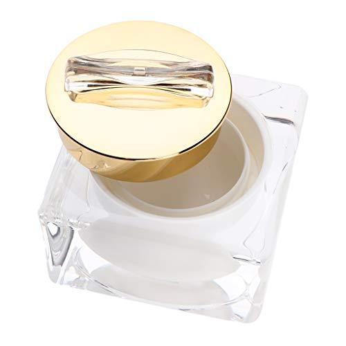 MERIGLARE 1x Pot De Maquillage Carré Acrylique Contenant Cosmétique Vide Pour Crème/Sérum / - 10 g