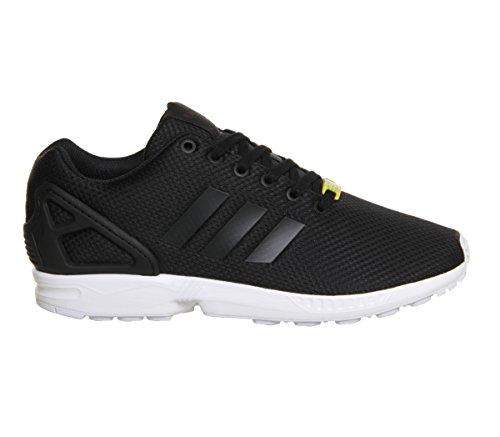 adidas ZX Flux, Scarpe da Ginnastica Basse Uomo, Nero (Black M19840), 44 EU