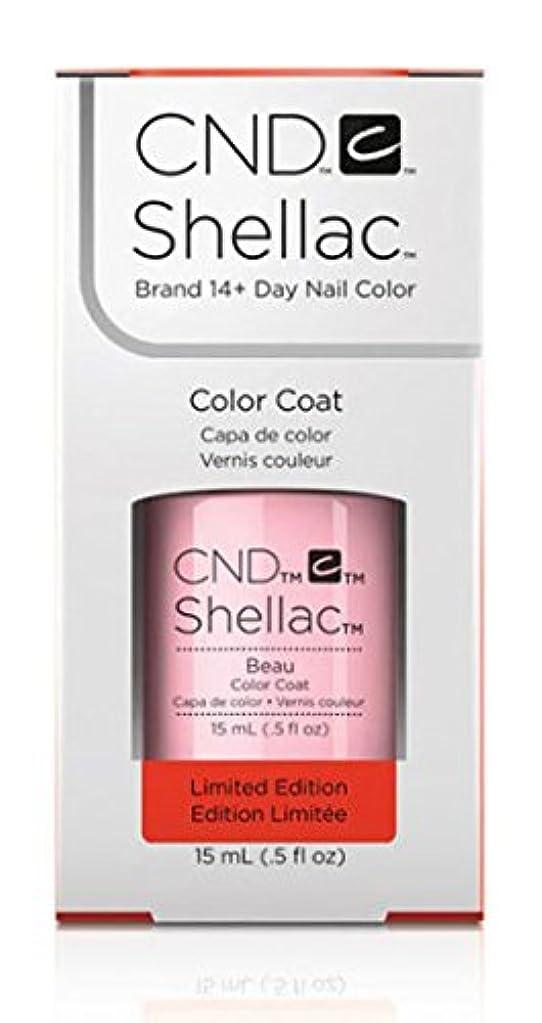 コンサルタントとしてホステスCND Shellac - Limited Edition! - Beau - 15ml / 0.5oz