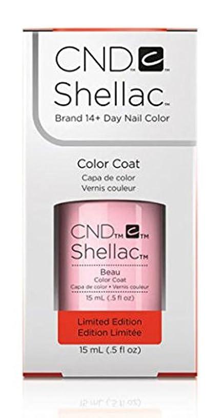 デコレーション治すアラブCND Shellac - Limited Edition! - Beau - 15ml / 0.5oz