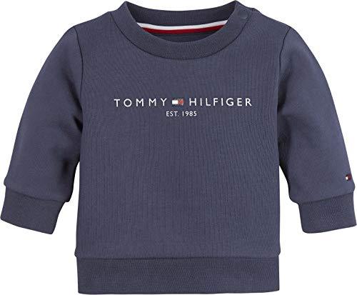 Tommy Hilfiger Baby Essential Sweatshirt Juego de Pijama, Azul Marino Crepúsculo, 68 cm para Bebés