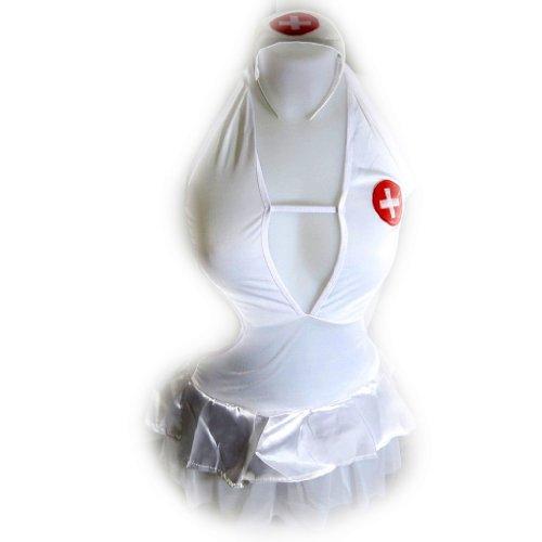 Les Trésors De Lily [K8497] - Déguisement 'Sexy Infirmière' blanc