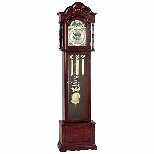 New Edward Meyer Grandfather Clock with Beveled...