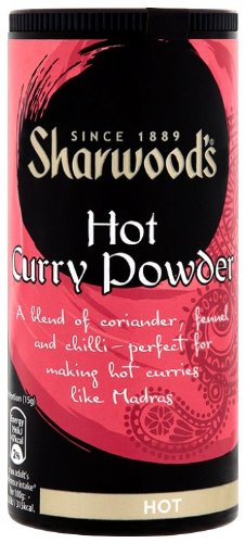Sharwoods Hot Curry Powder 102 g (Pack of 6)