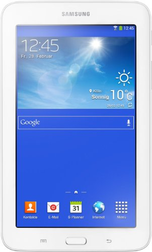 Samsung Galaxy Tab 3 7.0 Lite - Tablet de 7' (WiFi, 8 GB, 1 GB RAM, Android), Blanco