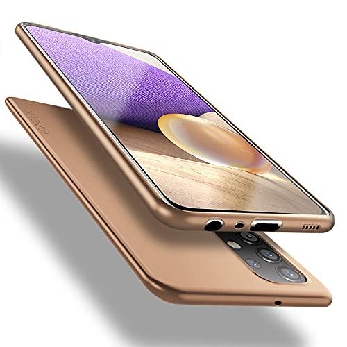 X-level Cover Samsung Galaxy A32 4G, [Guardian Series] Ultra Sottile e Morbido TPU Protettiva Custodia Silicone Rubber Protezione Cover per Samsung Galaxy A32 4G, Oro