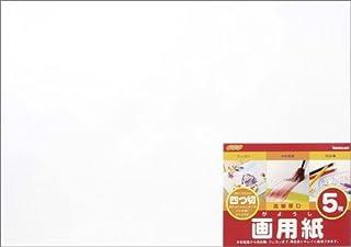 ナカバヤシ 画用紙 四ツ切 5枚パック