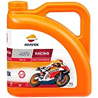 Repsol RP160N54 Moto Racing 4T 10W-40 Aceite de Motor, 4 L