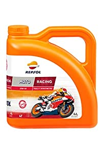 Repsol RP160L54 Moto Racing 4T 5W-40 Aceite de Motor, 4 L
