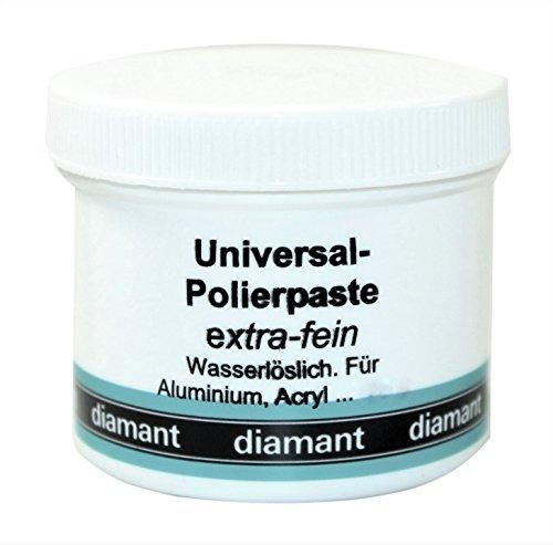Universal Polierpaste Schleifpaste, extra-fein, Inhalt 160 g, DIAMANT