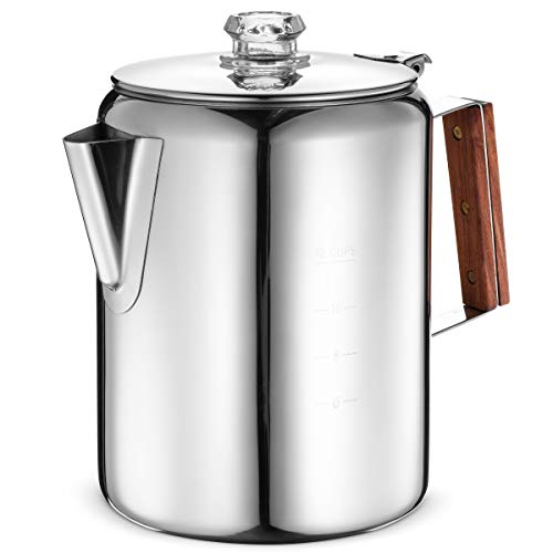 12 cup ss electric percolator - 4