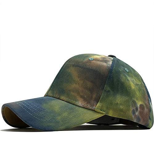 Xme Nuevas Gorras de bisbol Tie-Dye, Gorras de Tendencia de Moda para Hombres y Mujeres, Sombreros de sombrilla de Moda Casual al Aire Libre