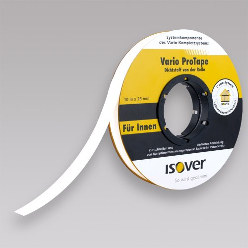 Isover Vario ProTape selbstklebender Dichtstoff 25mm x 10m/Rolle
