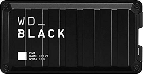 WD_Black 4TB P50-Game Drive Portable External Solid State Drive SSD, Compatible with-Playstation-Xbox, PC, & Mac, Up to 2,000 MB/s - WDBA3S0040BBK-WESN