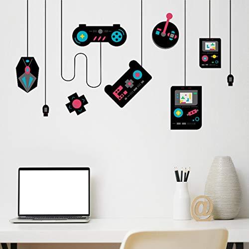 Vinilo adhesivo para pared de juegos para decoración de sala de juegos, regalo para niños, adolescentes, habitación de juegos