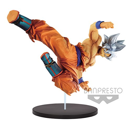 Banpresto - Figurine DBZ - Son Goku Ultra Instinct Vol 8 Fes 20cm - 3296580824007